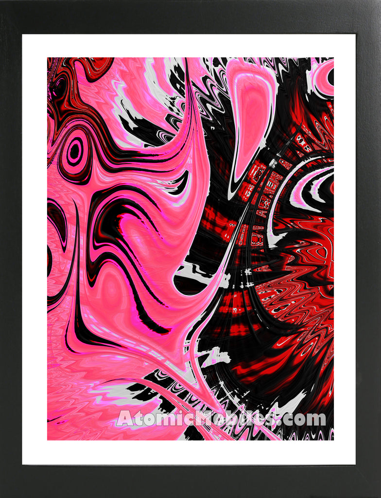 Atomic Print 45 - Bold Modern Abstract Art Giclee by AtomicMobiles.com