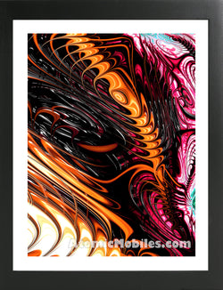 Atomic Print 46 - Bold Modern Abstract Art Giclee by AtomicMobiles.com