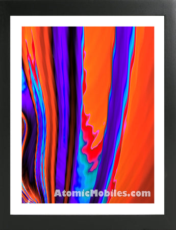 Atomic Print 48 - Bold Modern Abstract Art Giclee by AtomicMobiles.com