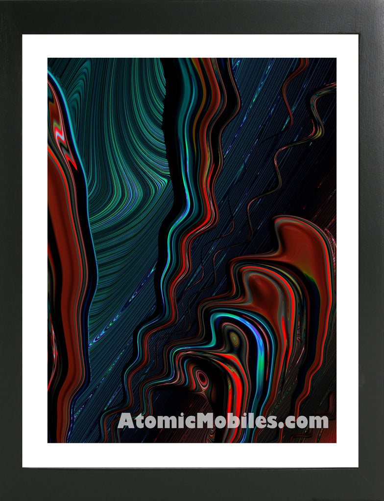 Atomic Print 53 - Bold Modern Abstract Art Giclee by AtomicMobiles.com