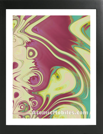Atomic Print 54 - Bold Modern Abstract Art Giclee by AtomicMobiles.com