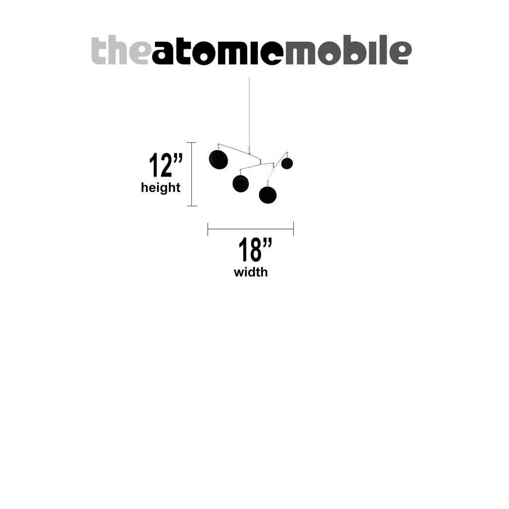 The Atomic Mobile - Mobilized Edition - 12x18 by AtomicMobiles.com