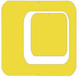 "Yellow 6"" square set - Coolsville Modern Room Divider Screen Partition by AtomicMobiles.com"