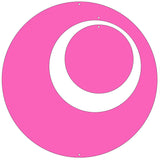 Hot Pink Circle Set for Groovy Atomic Screens - Room Dividers, Partitions, Curtains, and Window Treatments by AtomicMobiles.com