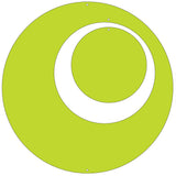 Lime Green Circle Set for Groovy Atomic Screens - Room Dividers, Partitions, Curtains, and Window Treatments by AtomicMobiles.com