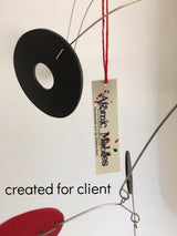 ModCast Hanging Mobile with Atomic Mobiles hang tag