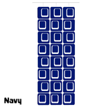 Large Coolsville Room Divider Screen Kit in Navy by AtomicMobiles.com