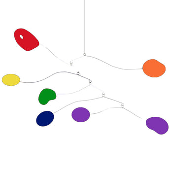 Pride Mobile - Atomica Style - LGBT / LGBTQ Movement Rainbow Mobiles by AtomicMobiles.com