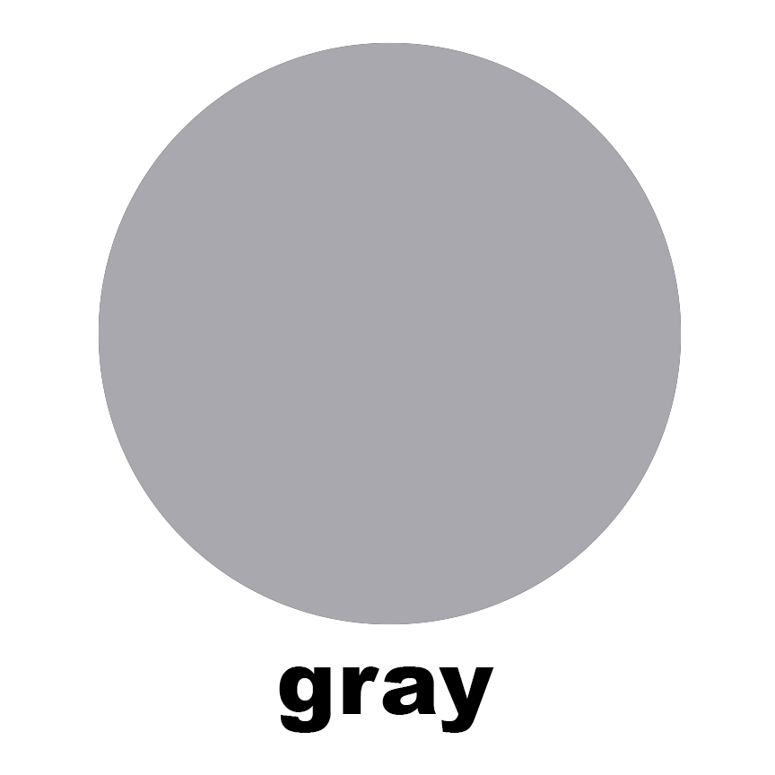 Gray Sample Swatch Chip for Atomic Mobiles, Stabiles, Room Dividers, Wall Art, and Curtains by AtomicMobiles.com