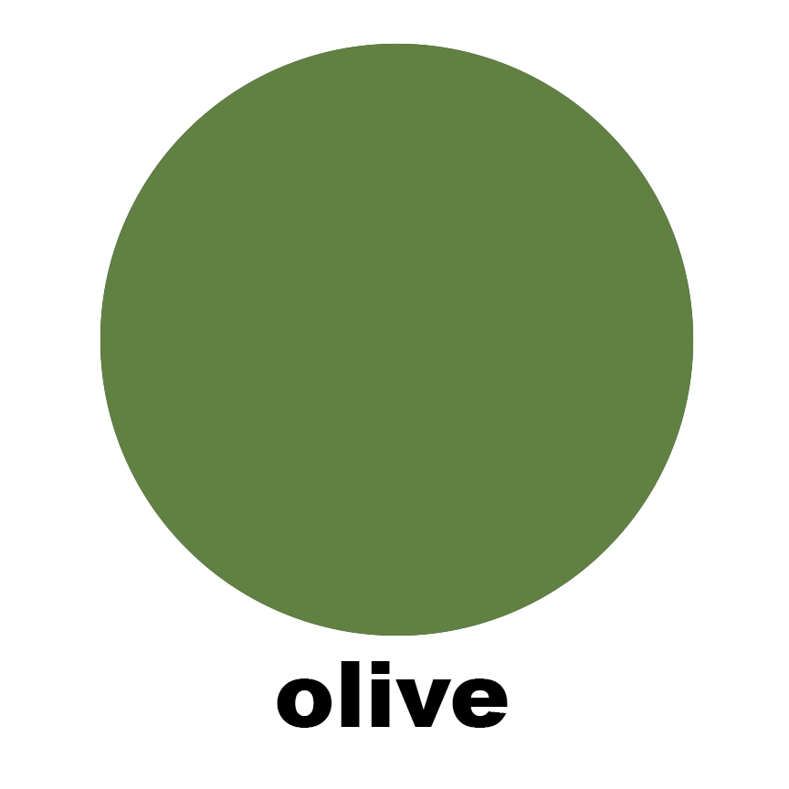Olive Sample Swatch Chip for Atomic Mobiles, Stabiles, Room Dividers, Wall Art, and Curtains by AtomicMobiles.com
