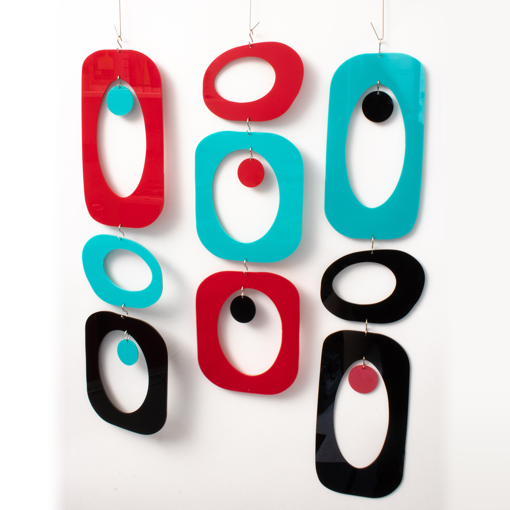 BEATNIK PARTY Mobiles | Room Divider Opaque Color Parts Kit