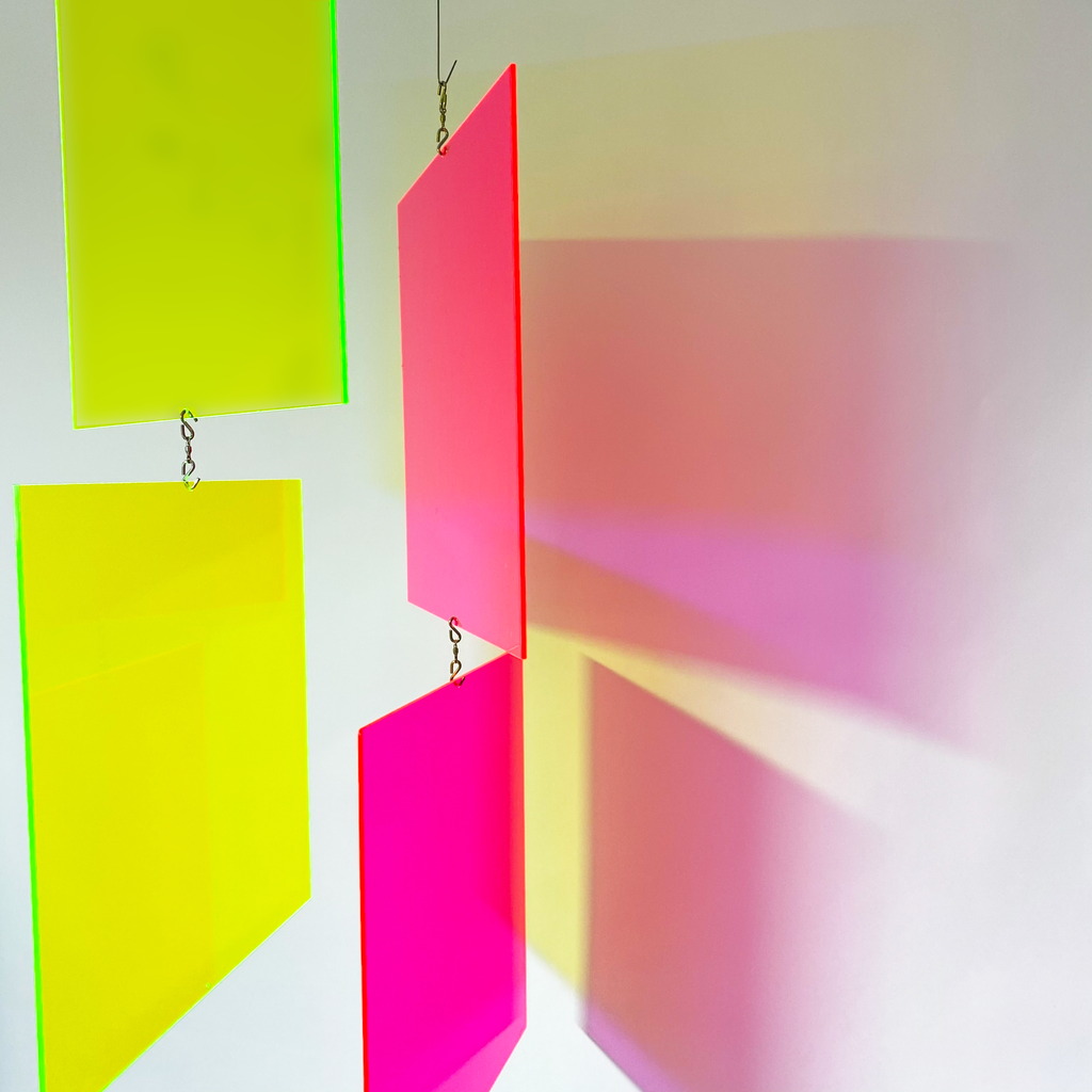 MODcast Fluorescent Luxury Art Mobiles