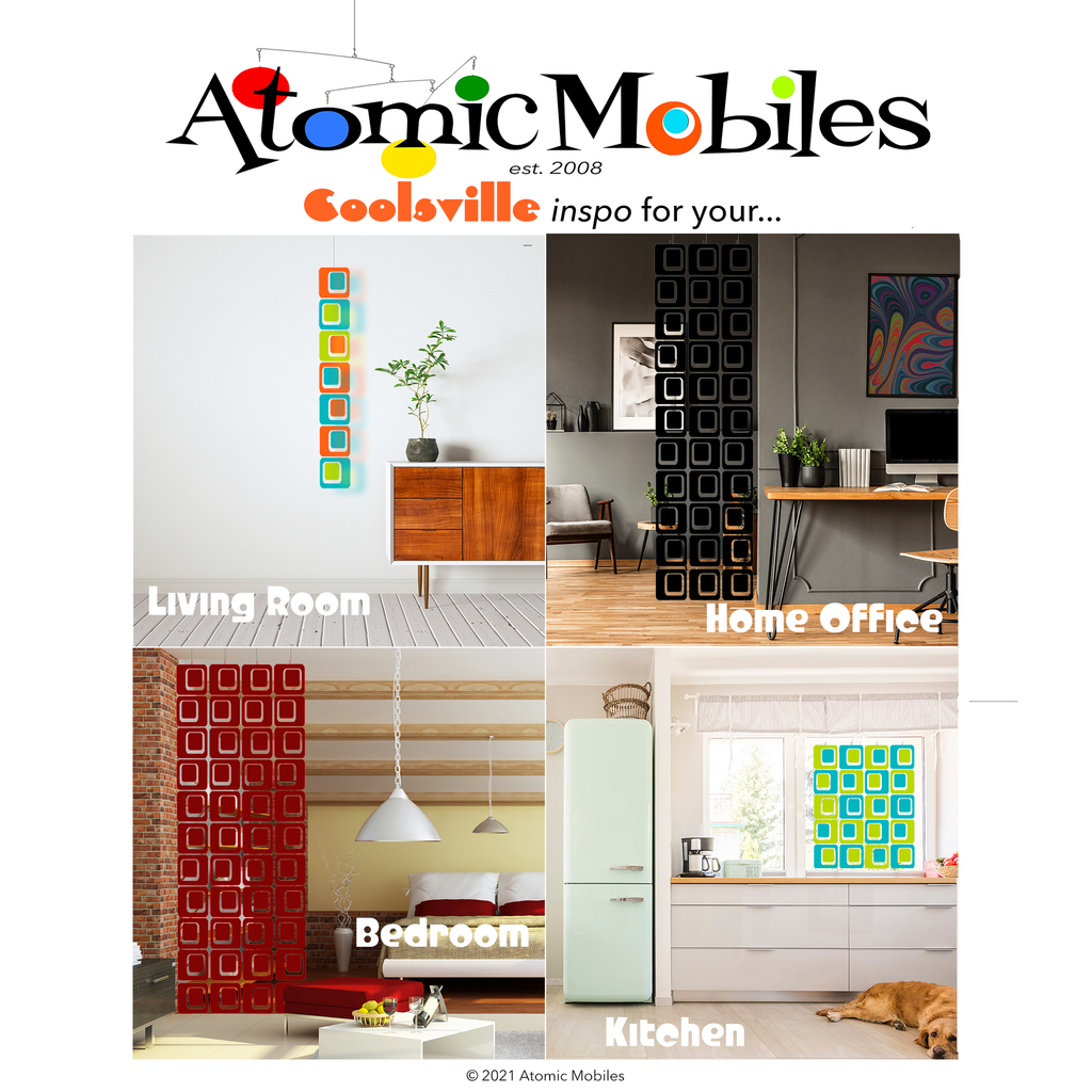 COOLSVILLE  Room Dividers - Opaque Parts DIY Kits - Mix 'n Match