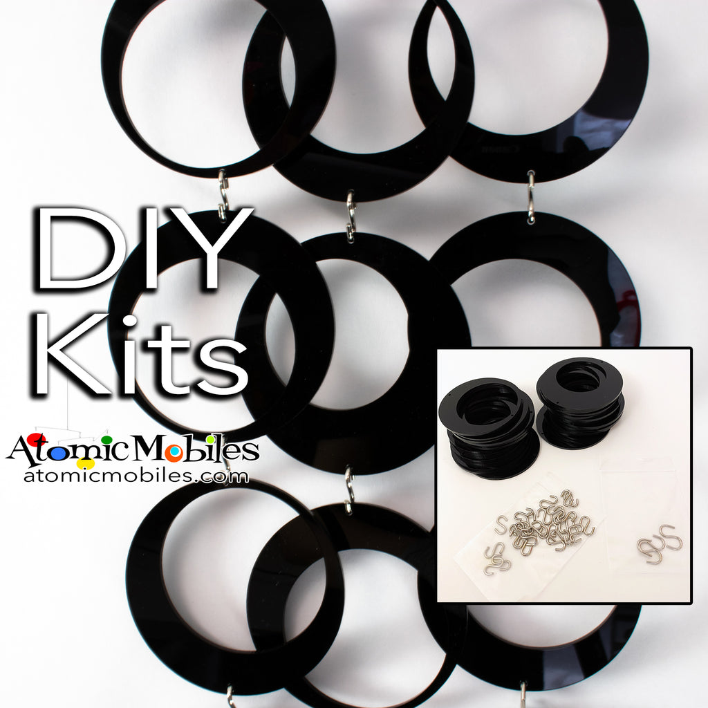 SALE! Mini POPdots DIY KIT in Black