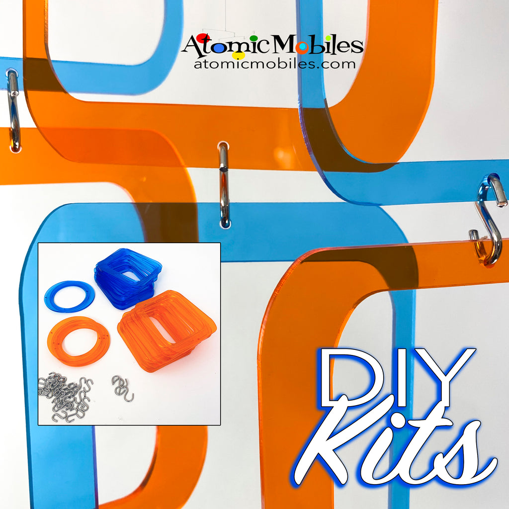 SALE! Mini POPdots DIY KIT Blue + Orange