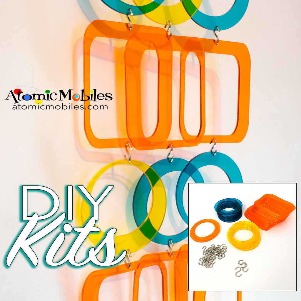 SALE! Mini POPdots DIY KIT in Clear Palm Springs Colors