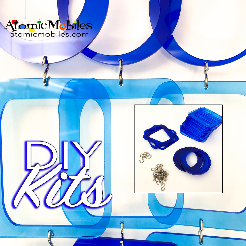 SALE! Mini POPdots DIY KIT Navy Blue