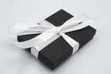 MODular Earrings in lovely black gift box with white ribbon - handmade statement earrings by AtomicMobiles.com