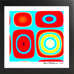 Oza Modern Art Giclee Print by AtomicMobiles.com