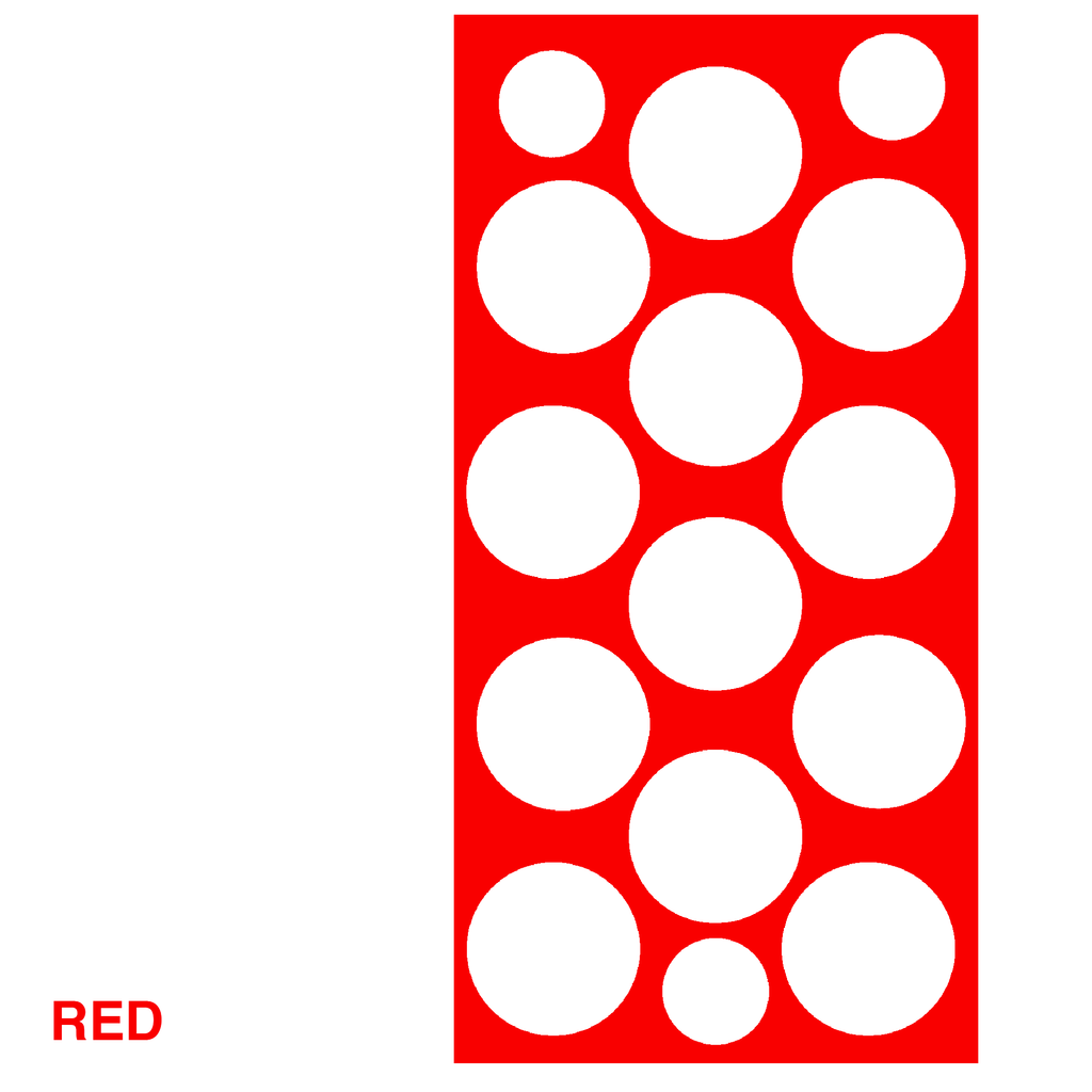 Red Polka Dots Retro Wall Tile by AtomicMobiles.com