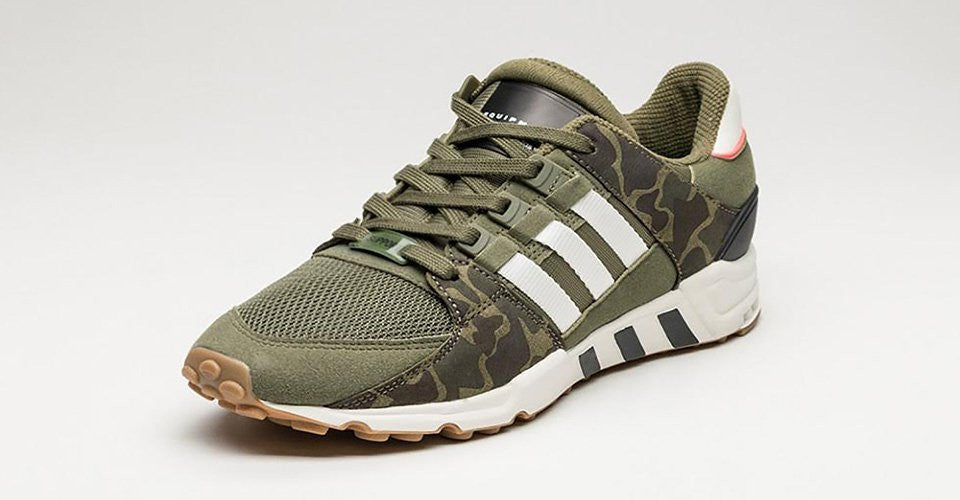 .#adidas embraces camo with new EQT Equipment Support RF: