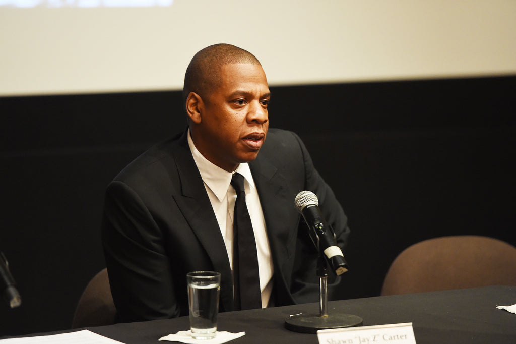 Instead of receiving gifts for Father's Day, Jay-Z is giving back.