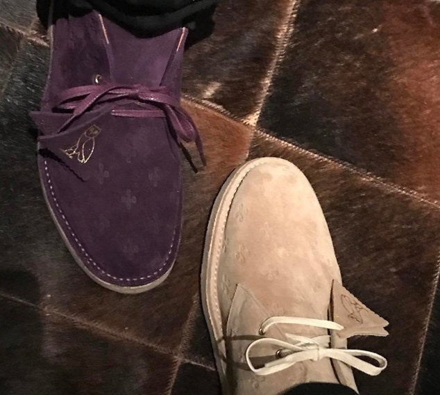 Did #Drake just tease a #welcomeOVO x #ClarksOriginals collab?