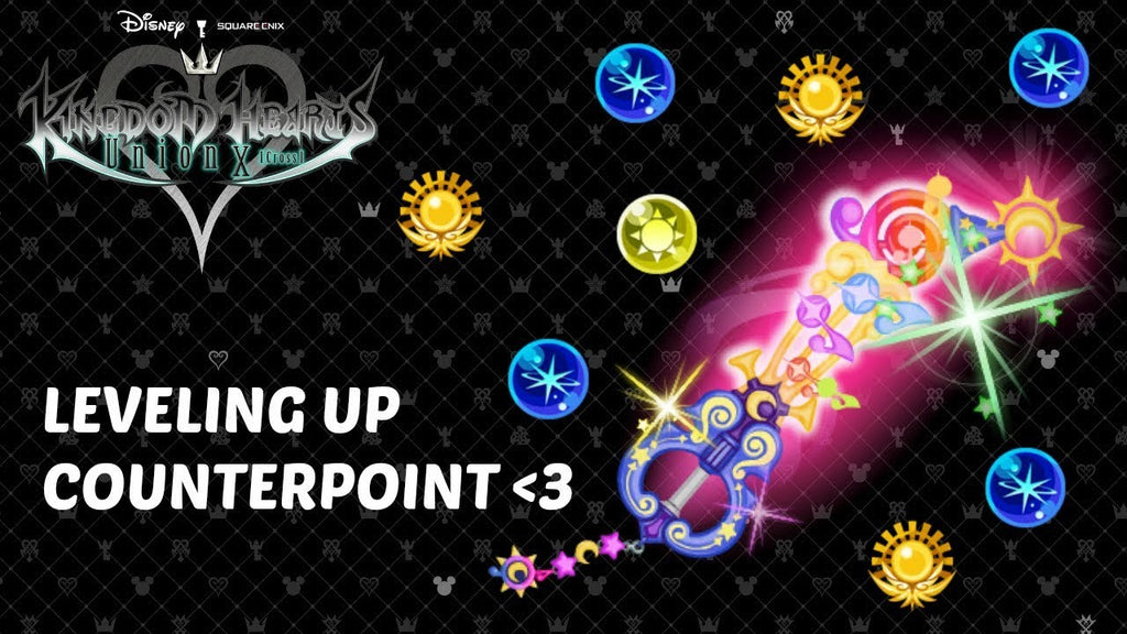 KHUX Leveling up Counterpoint  via   #khux #squareenix #disney #kingdomhearts #keyblade #kh3 #fun #beauty #yay
