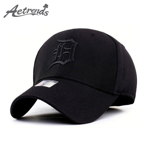 [AETRENDS] Spandex Elastic Fitted Hats Sunscreen Baseball Cap Men or Women Sport casquette bone aba reta Z-1312