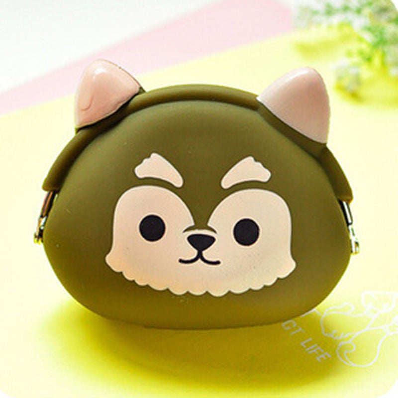 New Fashion Lovely Kawaii Candy Color Cartoon Animal Women Girls