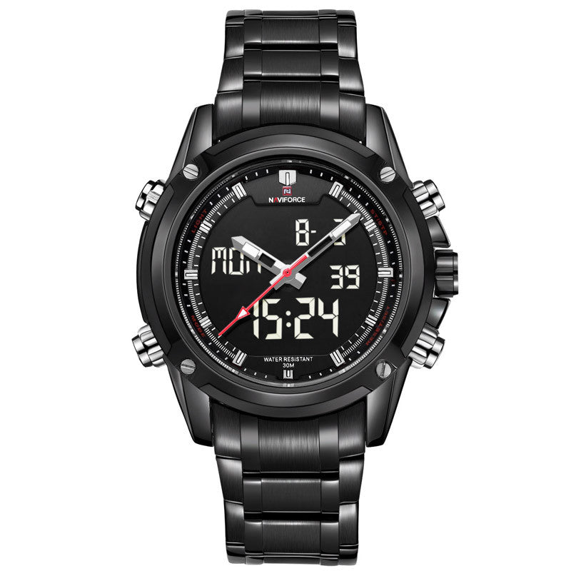 Luxury Brand Men Military Sports Watches Men's Quartz LED Digital Hour