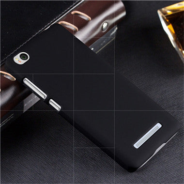 Ultrathin Frosted Case for Xiaomi Mi4c Mi4i Mi 4C Hard Plastic Phone Cover Scratchproof Fingerprint Proof Shell Black Red White