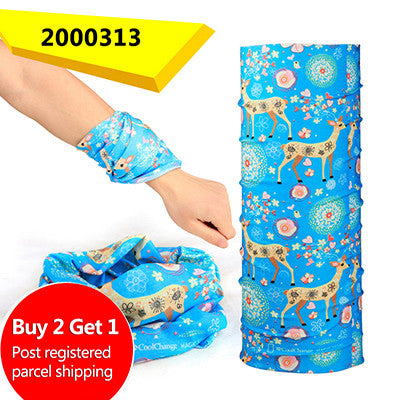 Buy Two Get One CoolChange Bicycle Seamless Bandanas Summer Outdoor