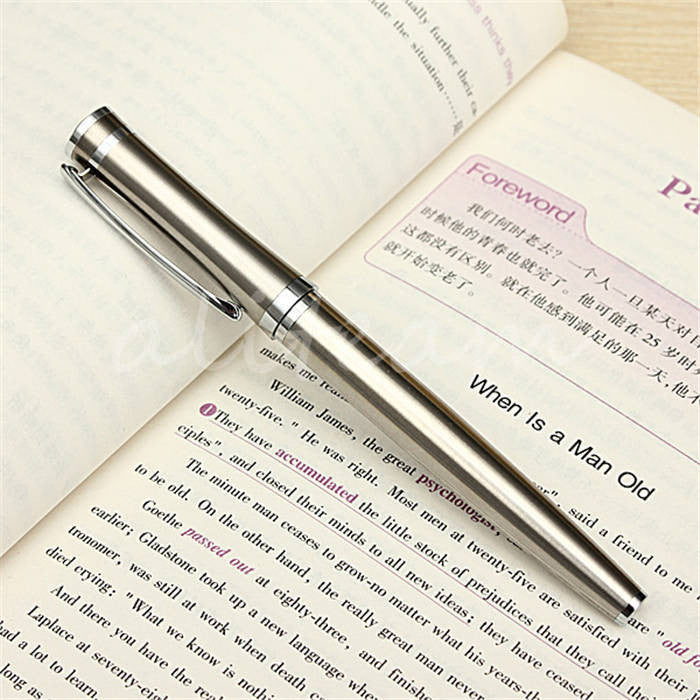 Best Price! 3035 High Quality Pure Stainless Medium Nib 0.5mm Study
