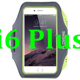 FLOVEME Sport Arm Band Case For iPhone 6 6S 4.7'' For iPhone 6 Plus / 6S Plus Outdoor Waterproof Running Gym Leather Phone Cover