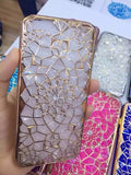 "Luxury Bling Diamond Case For iphone 6 Case For iphone 6S 6 Plus i6 4.7/5.5"" Soft Silicone Thin Cover Electroplating Phone Cases"