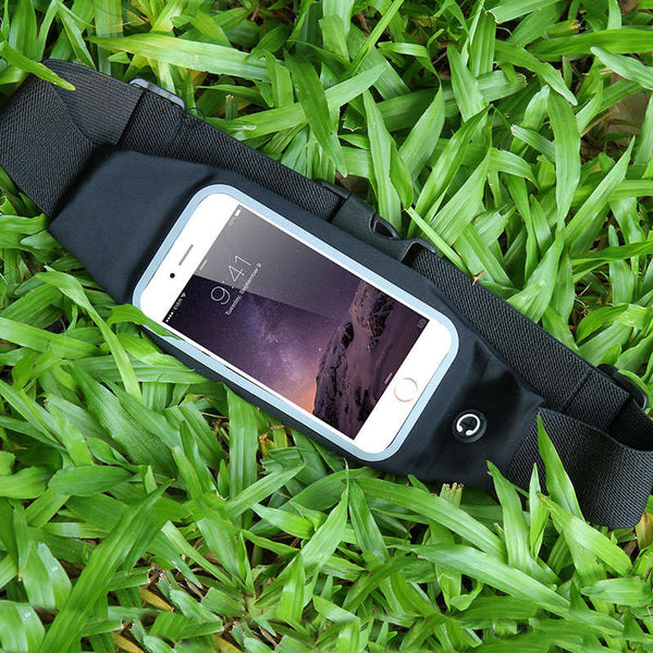 Universal 4.7 inch Waterproof Sports Running Waist Pocket Belt Case For iPhone 7 4S 5S SE 6 6S For Samsung A3 J1 Cover Bag