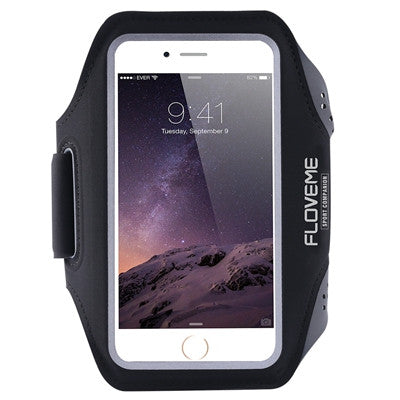 FLOVEME Waterproof Sport Arm Band Case For Samsung Galaxy S5 S6 S6 Edge/Plus S7 Edge S4 S3 Note 5 4 3 A5 A7 A8 Clear Touch Cover