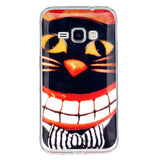 "New Soft Ultra Thin TPU Silione Phone Cover Case For Samsung Galaxy J1 J120 J120F J120H 4.5"" Case Cover Cartoon Back Cover"