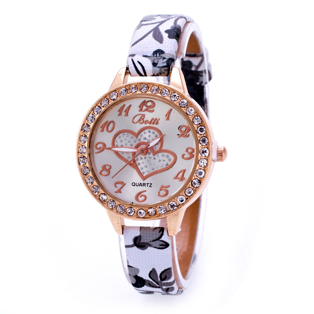 New Fashion design Watches casual watch woman and girl quartz watch