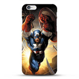 "Deadpool Marvel comic superhero Phone Case for iPhone 7 7 Plus 6 6s Plus 4.7"" 5.5"" inch Spiderman ironman 10 Designs"