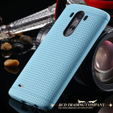 Candy Color Fashion Soft TPU Silicon Case For LG Optimus G3 D830 D850 D831 D855 Slim Honeycomb Dot Accessories Cover For LG G3