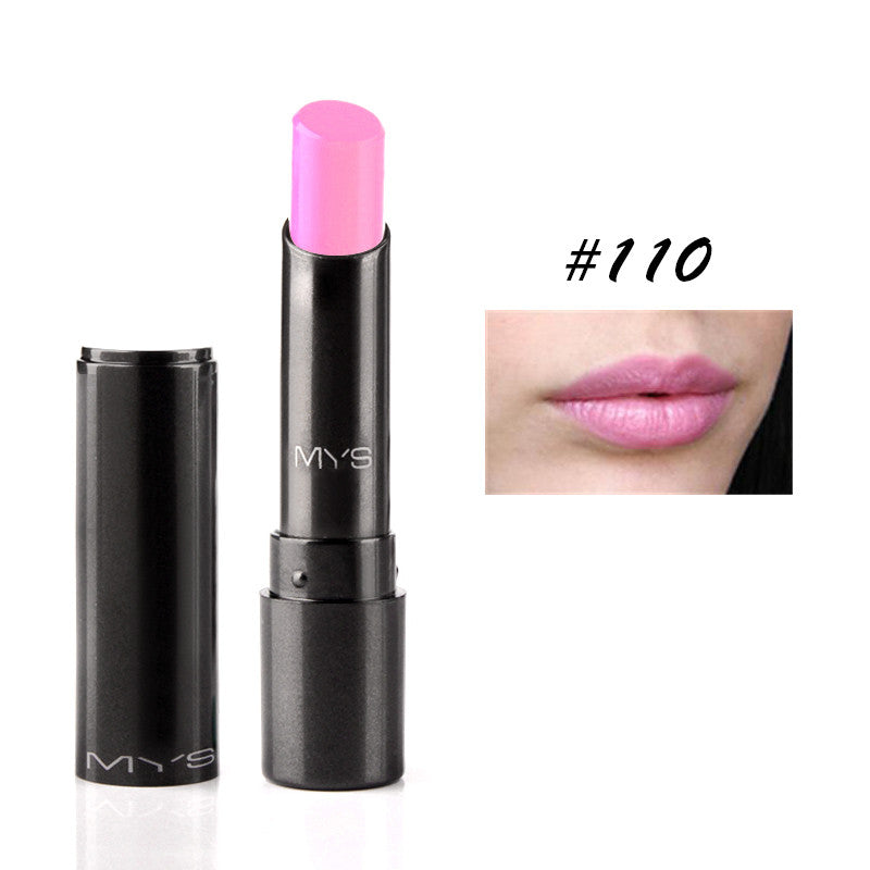 New Arrival MYS brand beauty matte lipstick long lasting tint lips