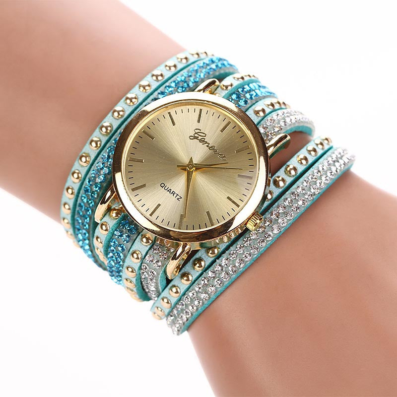 New Arrive Luxury Rhinestone Bracelet Women Watch Quartz Watch Women