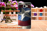 soft tpu Painted Plastic Cases For Samsung Galaxy A3 A310 A3100 A310F SM-A3100 4.7 inch cases Cover skin housing Shell