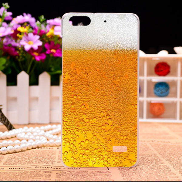 Soft TPU Hard plastic Flower Phone Cases For Huawei Honor 4C C8818 5.0 inch Honor5 Huawei G Play Mini Honor4C Phone Cases Covers
