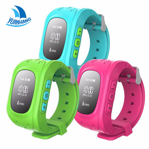 Smart Kid Safe GPS Watch Wristwatch SOS Call Location Finder Locator Tracker for Kid Child Anti Lost Monitor Baby Gift Q50
