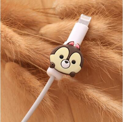 Cartoon Cable Protector Data Line Cord Protector Protective Case Cable