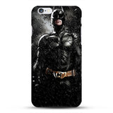 Marvel Avengers Spider man Dark Knight Hard Case Cover for iPhone 6 6s Batman Superman S logo Captain America Shield 10 Designs