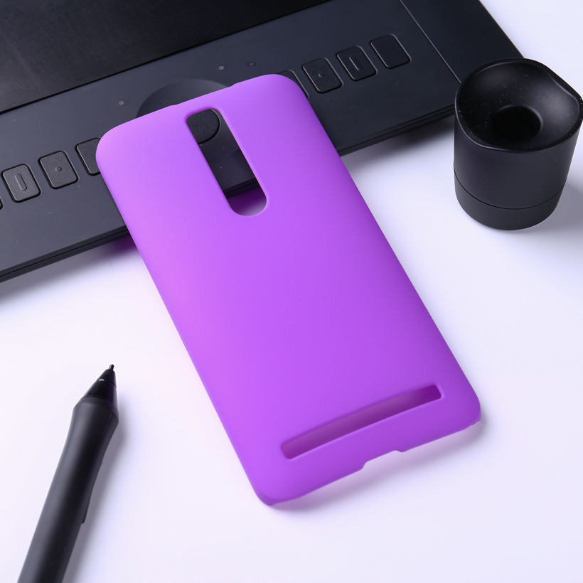 Colorful Oil-coated Rubber Matte Hard Case for Asus Zenfone2 ZE550ML
